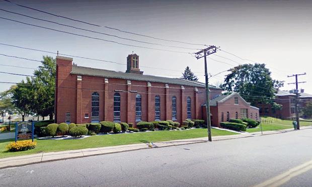 Sacred Heart School in Taftville