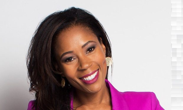 Former ESPN anchor and current Madden NFL anchor Adrienne Lawrence