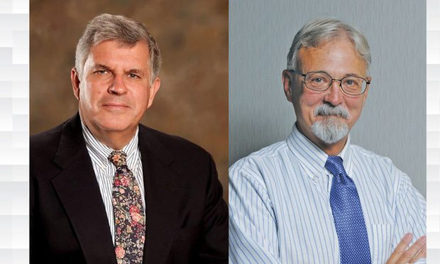 Attorneys Robert Mitchell (left) and Mark Dubois (Courtesy photo)