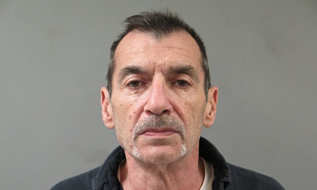 Booking photo of former Bridgeport attorney Alfred Cali.
