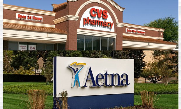 CVS and Aetna.