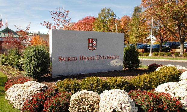 Sacred Heart University in Fairfield.