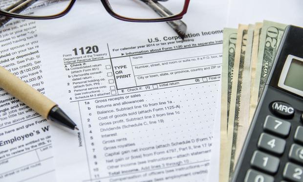 1120 IRS Tax Form