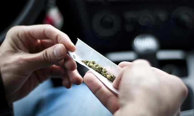 Marijuana joint paper.