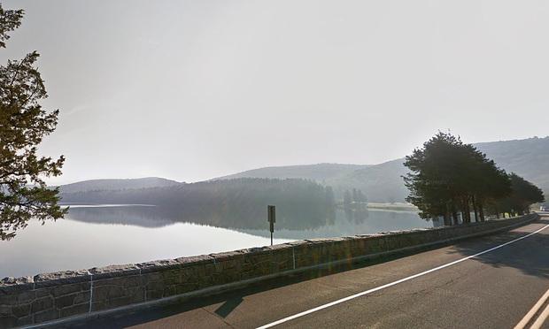 Lake McDonough in Barkhamsted,