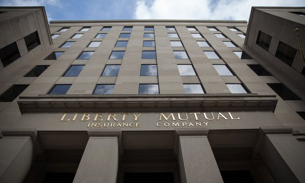 The Liberty Mutual Insurance world headquarters building, located in Boston,.