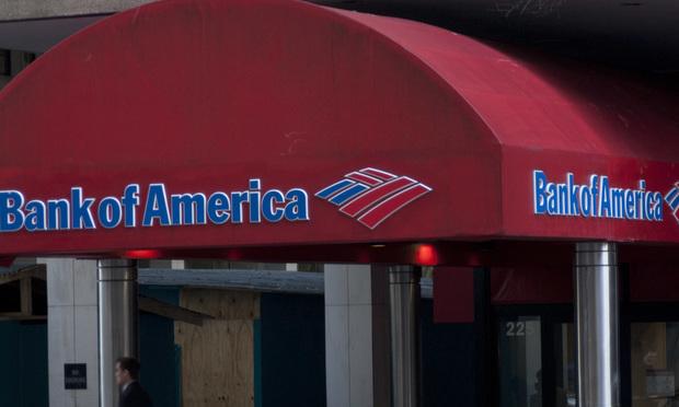 A Bank of America branch in Atlanta.