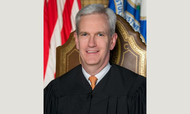 Connecticut Supreme Court Associate Justice Andrew McDonald.