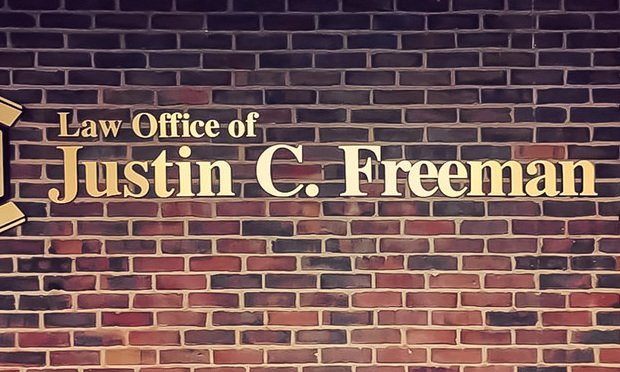 Law Offices of Connecticut Attorney Justin Freeman.
