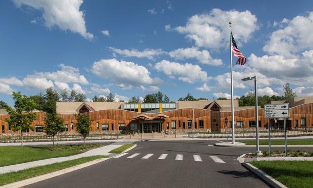 The new Sandy Hook Elementary School in Newtwon.