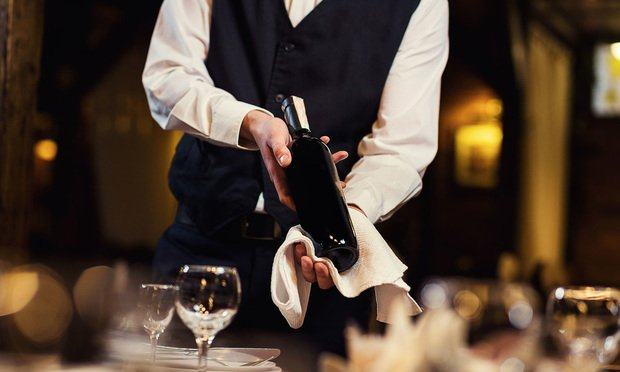 Waiter in Restaurant.