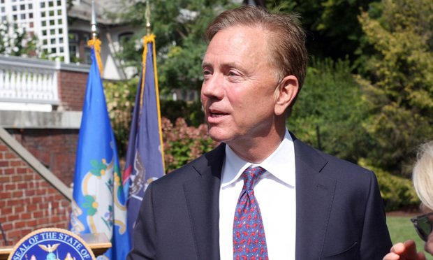 Connecticut Gov. Ned Lamont/photo by Michael Marciano/ALM