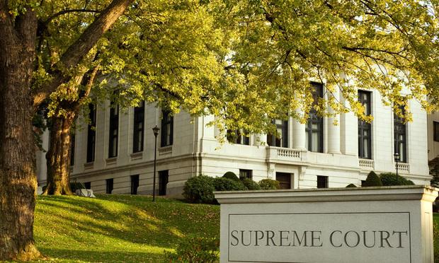 Connecticut Supreme court building in Hartford.