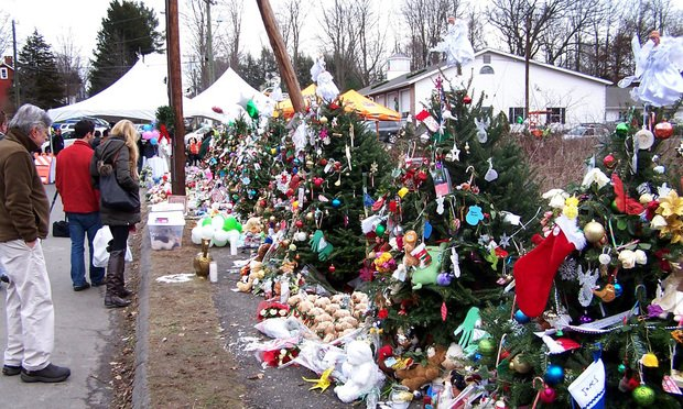School shooting memorials created following the 2012 massacre at Sandy Hook Elementary School.