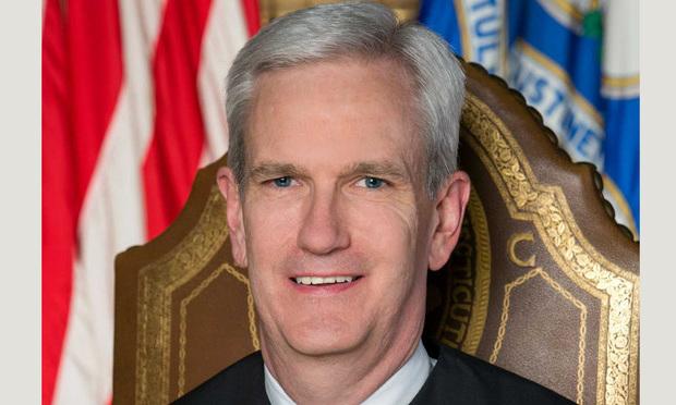 Associate Connecticut Supreme Court Justice Andrew McDonald.