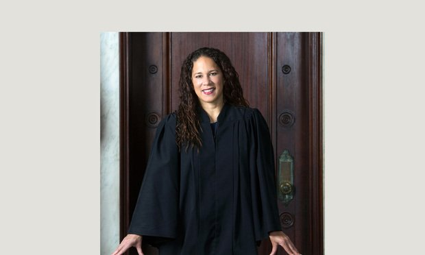 New Haven Superior Court Judge Melanie Cradle.