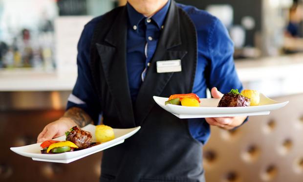 Restaurant server.