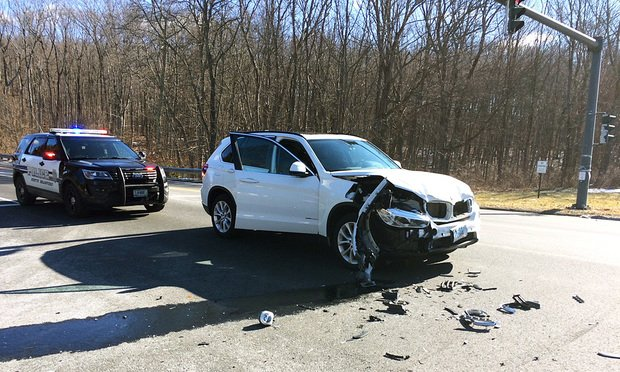 John Duley's 2016 BMW X5 collided with a car that 16-year-old Courtney Schroeder was driving in North Branford in 2017.
