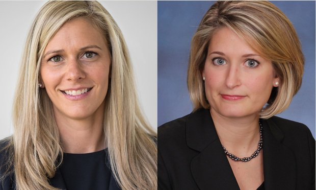 Lauren Healy, partner with Westport and Greenwich-based Broder & Orland, LLC and Kelly Reardon, managing partner of the New London-based The Reardon Law Firm.