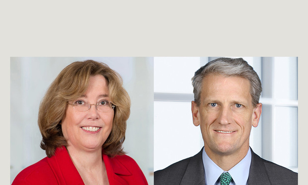 Susan Huntington, partner with Day Pitney, and Peter Knight, partner with Robinson & Cole.