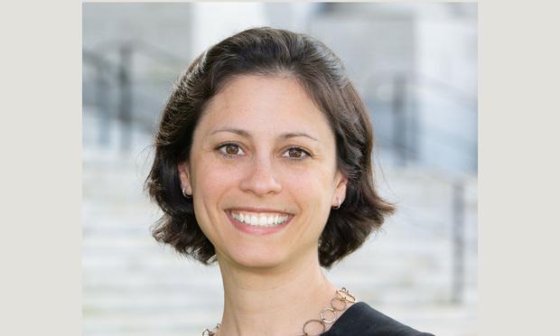 Connecticut Bar Foundation Executive Director Natalie Wagner.