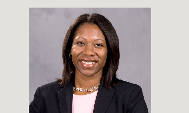 Eboni Nelson, the new dean at the University of Connecticut School of Law.