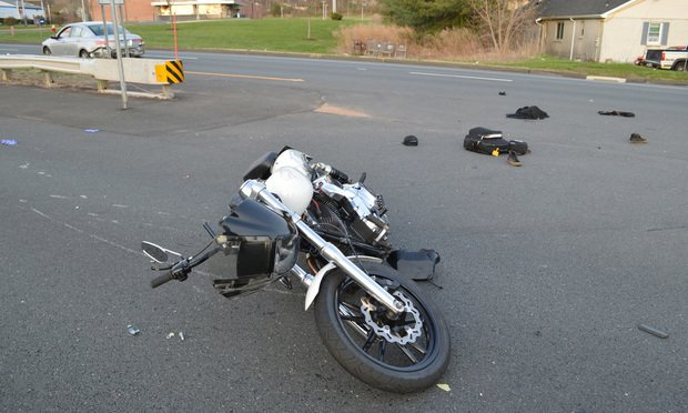 Motorcyclist Cody Pedemonti - injured on the Berlin Turnpike in April - recently settled his case for $91,000.