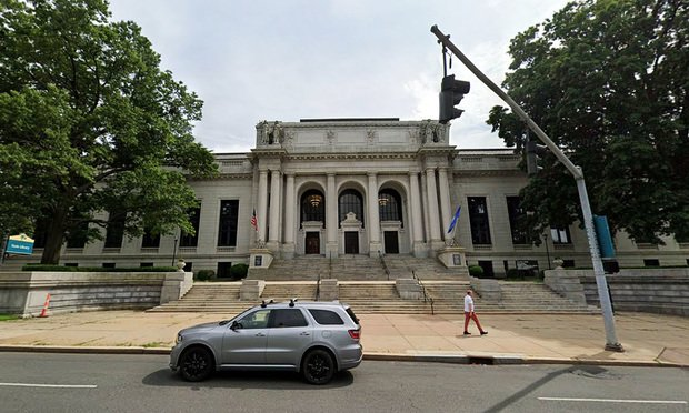 Connecticut Judicial Branch building at 231 Capitol Ave. in Hartford.