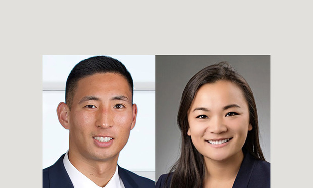 Dan Brody, an attorney with Robinson &; Cole in Hartford, left, and Emily Covey, a law student at the University of Connecticut School of Law, right. Courtesy photos