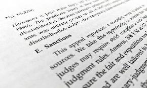 Font Fracas: DC Circuit 'Out To Get' Garamond; Lawyers Divided