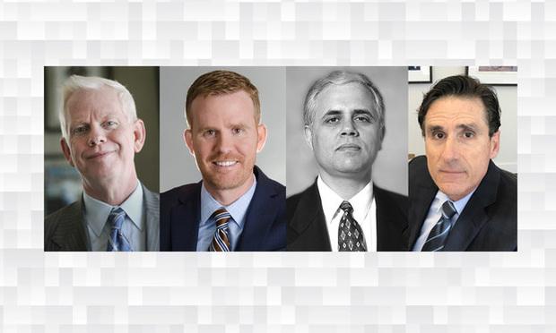 (l R) Lawrence Kellogg And Jason Kellogg, Of Levine Kellogg Lehman  Schneider + Grossman In Miami, And Paulino Nunez And Frank Rodriguez, Of  Rodriguez ...