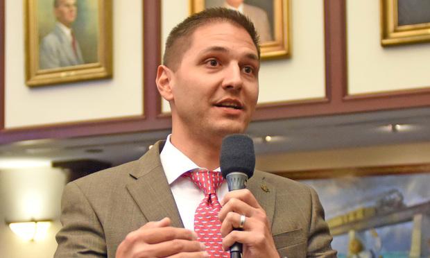 Rep. Daniel Burgess Jr., R-Zephyrhills.