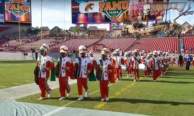 Florida A&M Marching 100 Band (YouTube)