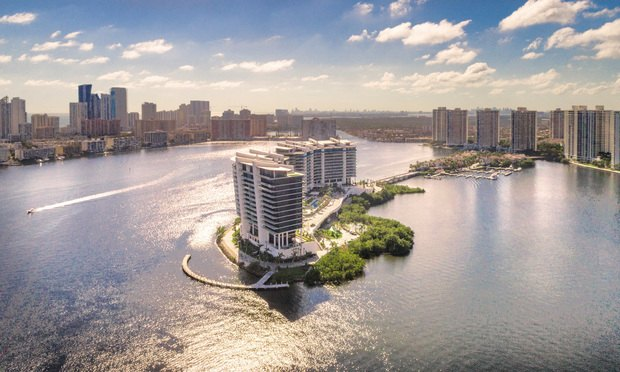Prive at Island Estates: The first residents have been moving in Prive at Island Estates, the 16-story twin-tower condominium in Aventura that's been the subject of multiple lawsuits.