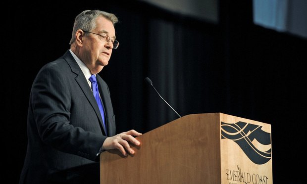 Florida Constitution Revision Commission member Don Gaetz (U.S. Air Force photo/Senior Airman Christopher Callaway)