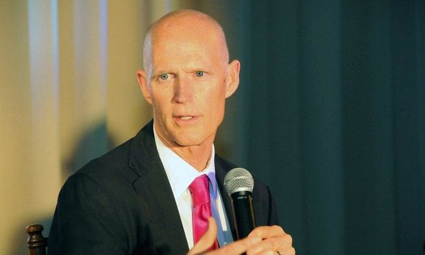 Florida Gov. Rick Scott/Photo courtesy of Jill Kahn