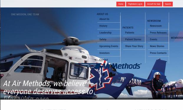 Air Methods screenshot
