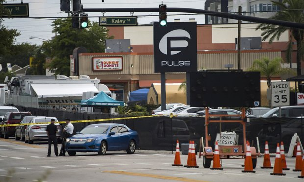 Scene of the Pulse nightclub shooting/Photo: Neville Elder/Shutterstock.com