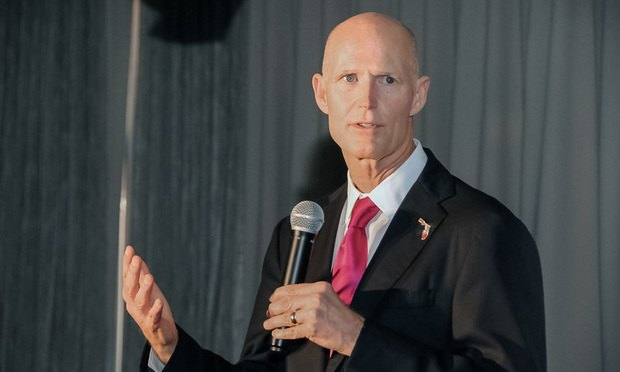 Florida Gov. Rick Scott/Photo by Jill Kahn