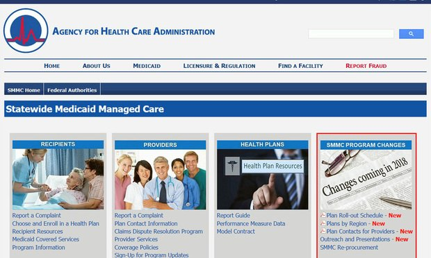 florida agency for health care administration essay The background screening unit processes screening results for health care providers in florida currently licensed by the agency for health care administration.