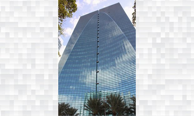 Brickell Bank is the Brickell Arch building, 1395 Brickell Ave. Courtesy photo