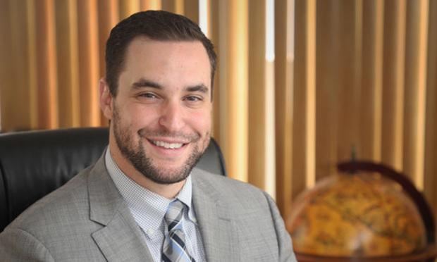 Michael Dunn, managing partner at Dunn Law in Miami/photo by J. Albert Diaz