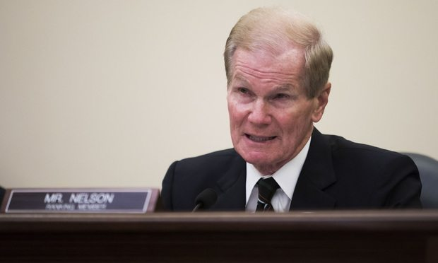Sen. Bill Nelson of Florida/Photo by Diego M. Radzinschi/ALM