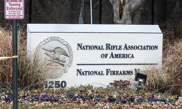 National Rifle Association headquarters in Fairfax, Virginia/Photo courtesy of Nicole S Glass/Shutterstock.com
