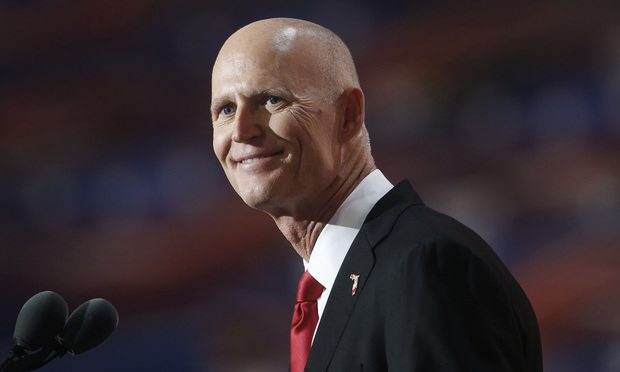 Florida Gov. Rick Scott/Photo by Andrew Harrer/Bloomberg