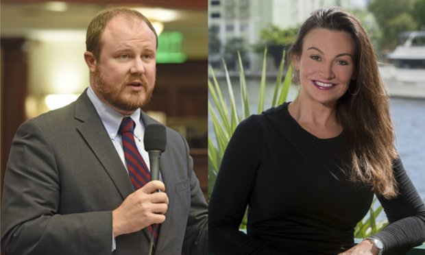 Matt Caldwell, left, and Nikki Fried, candidates for Department of Agriculture commissioner/courtesy photos