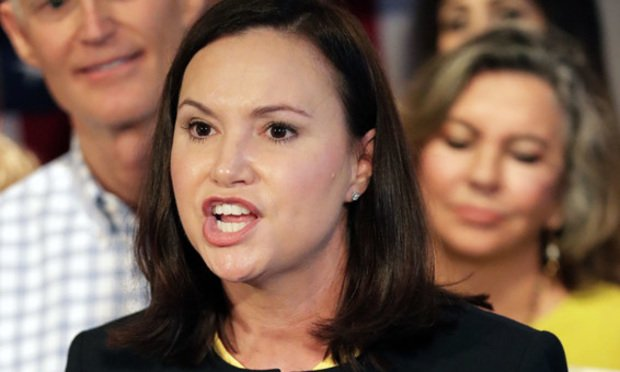 Ashley Moody, Florida's new attorney general/Photo by John Raoux/AP