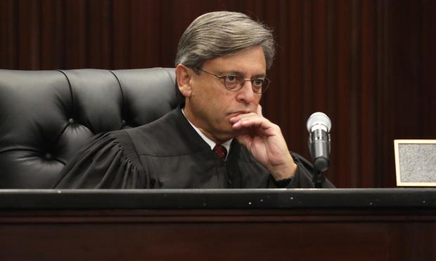 Florida Supreme Court Justice Jorge Labarga/photo by J. Albert Diaz