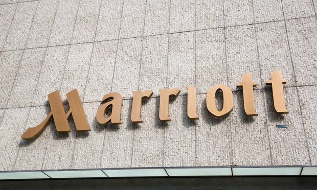 Marriott sign
