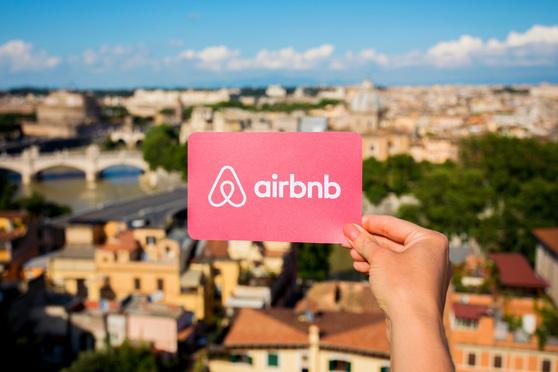 Airbnb logo. Photo: Kaspars Grinvalds/Shutterstock.com.